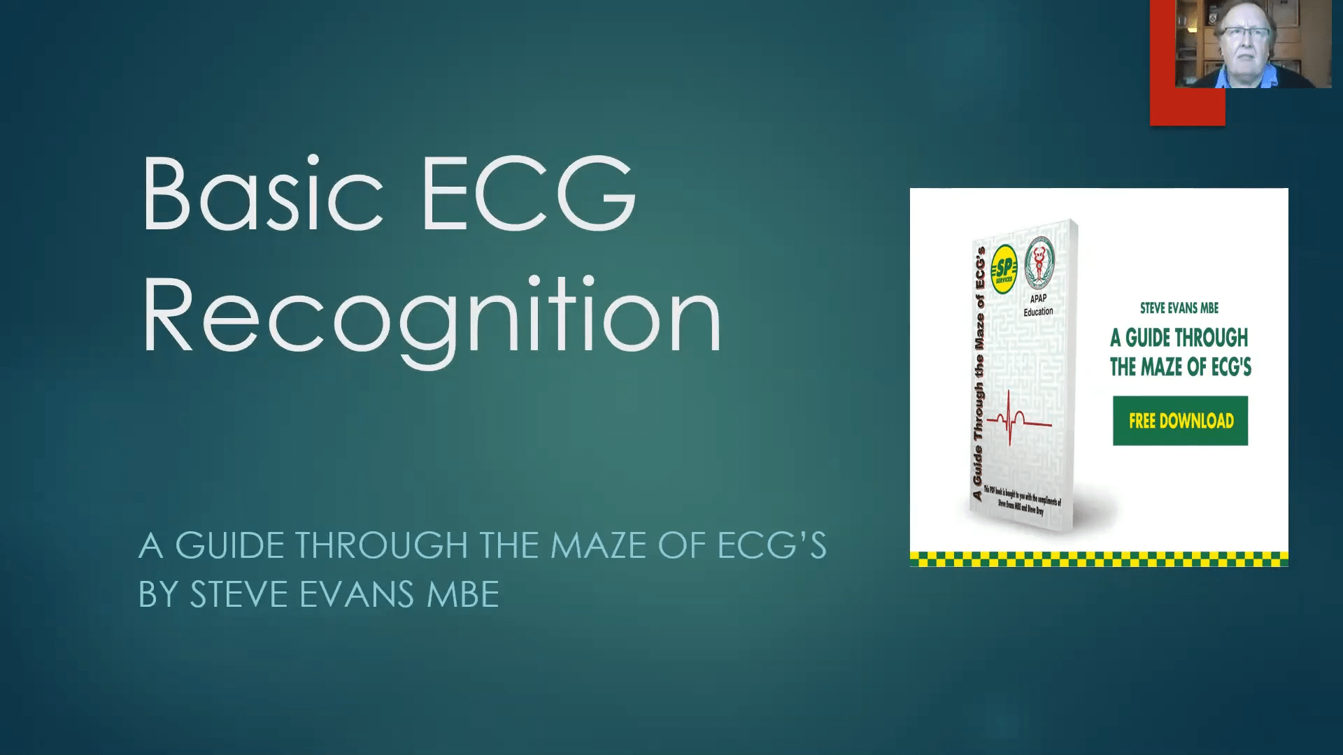 Steve Evans MBE - A Guide to ECG's